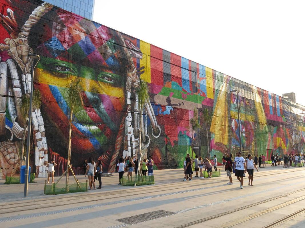 mural kobra