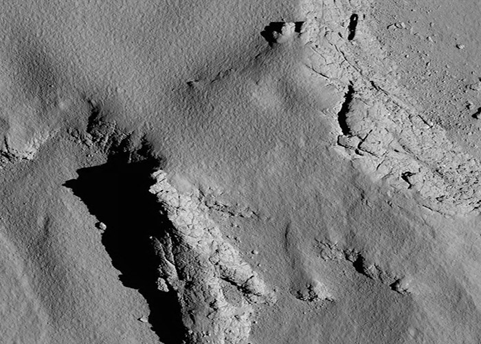 (Foto: ESA/ Rosetta/ MPS for OSIRIS Team MPS/ UPD/ LAM/ IAA/ SSO/ INTA/ UPM/ DASP/ IDA)
